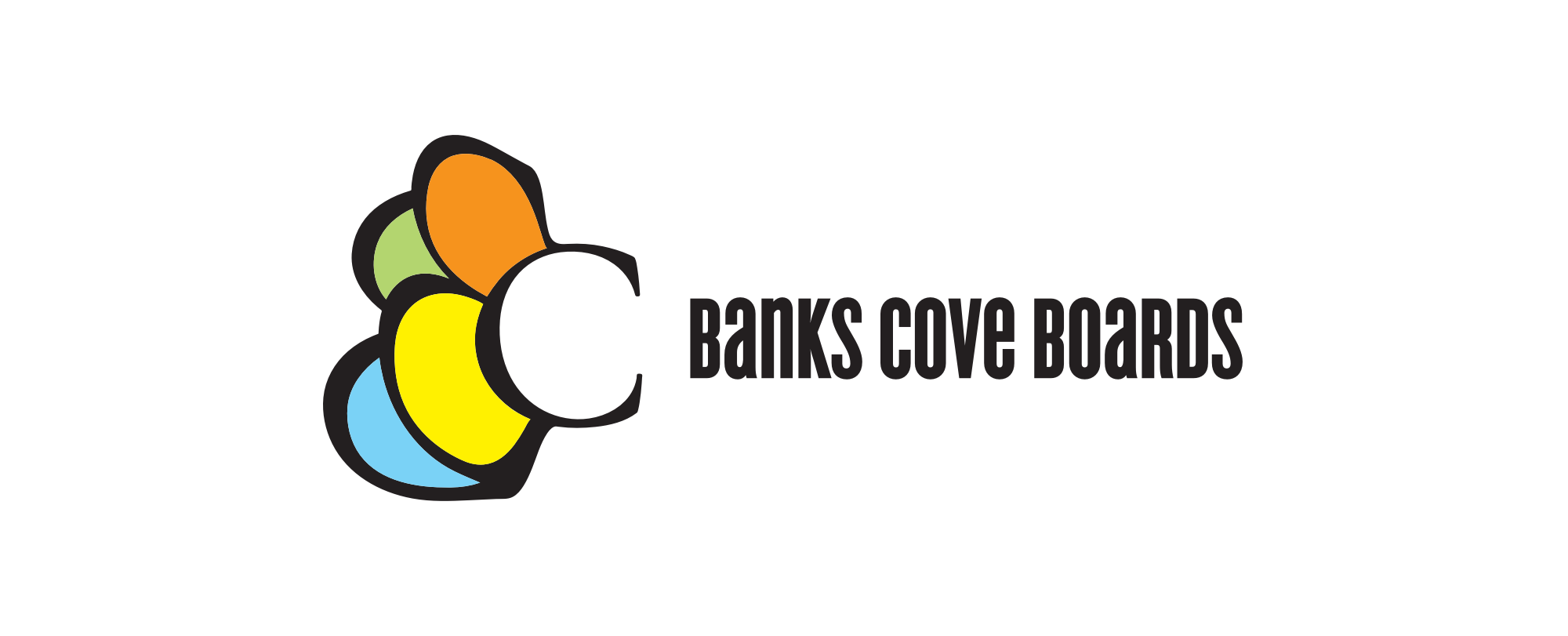 Banks Cove Boards Identity