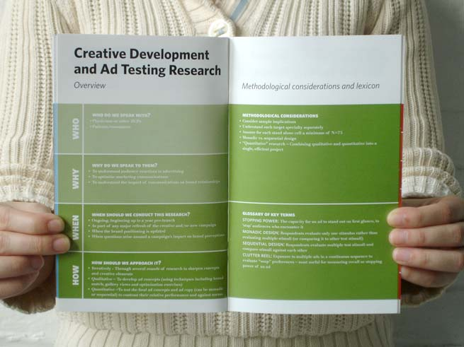 Hall & Partners Health: Hall & Partners Health Market Research 101 brochure spread