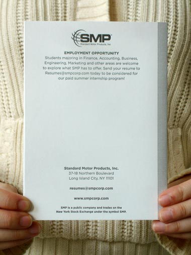SMP Career Manual: SMP Career Manual back cover
